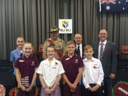 Special moments commemorate the Anzac spirit