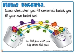 Filling buckets with kindness